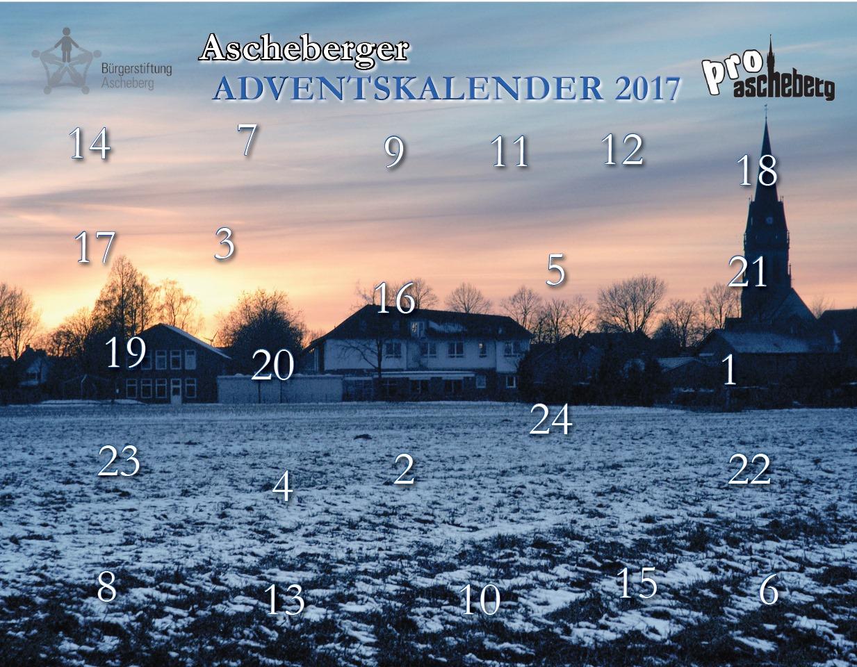 Ascheberger Adventskalender 2017