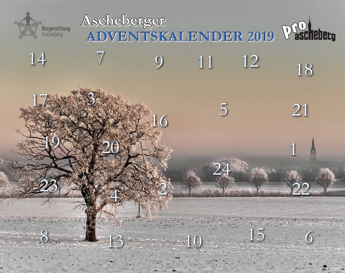 Ascheberger Adventskalender 2019